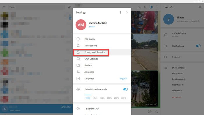How To Improve Privacy And Security On Telegram Messenger App Easytuto